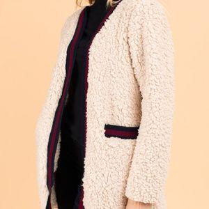Stay Cozy Fur Cardigan
